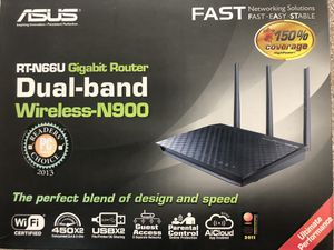 Asus Dual-band Wireless Gigabit Router for Sale in Discovery Bay, CA