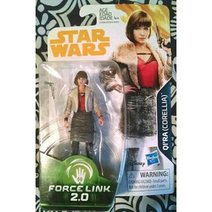 NEW STAR WARS QI'RA CORELLIA FORCE LINK 2.0 ACTION FIGURE MINT ON CARD DISNEY for Sale in North Chesterfield, VA