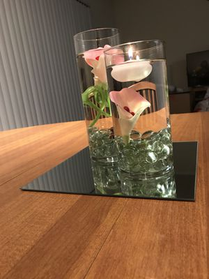 Glass vases - Centre piece for Sale in Austin, TX