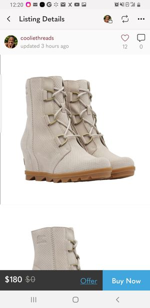 "SOREL ""JOAN OF ARTIC"" WEDGE BOOT for Sale in Philadelphia, PA"