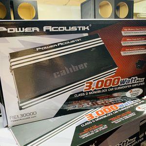 Power Acoustik 3000 Monoblock Amplifier for Sale in San Bernardino, CA