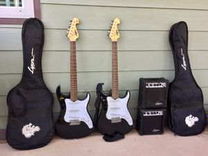 Lyon by Washington Electric Guitar Full Equipment for Sale in Westminster, CA