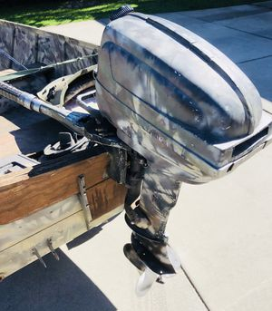 15hp '54 Evinrude fastwin outboard motor for Sale in Chico, CA