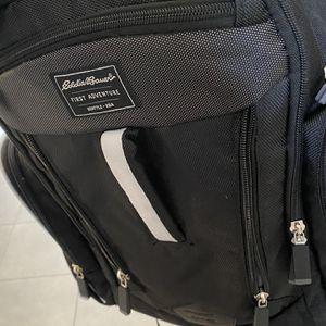 Eddie Bauer Black Back Pack Diaper Bag for Sale in Corona, CA