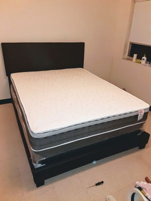 BED NEW (FULL or QUEEN or Twin) cama TODO NUEVO EN SU CAJA - BED ( BED, frame , MATRESS,) , for Sale in Miami, FL