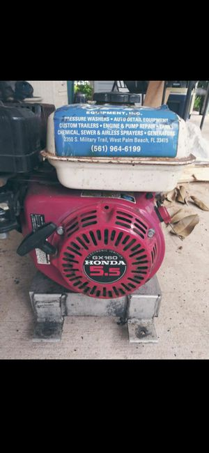 Pressure washer work perfect GX160.5.5 for Sale in Lake Worth, FL