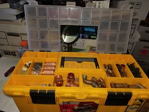 Tool box with plumbing supplies and tools for Sale in Stafford, VA