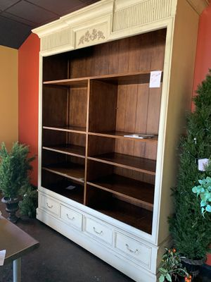 Very large Very large bookcase 8 ft high 8.10 ft H 6.6 L 1.10 ft D for Sale in Garnet Valley, PA