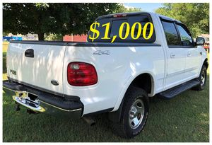 ⚡️📗⚡️$1,OOO For Sale URGENT 🔑2OO2 Ford F-15O 🔑Non-smoker CLEAN TITLE⚡️📗⚡️ for Sale in Baton Rouge, LA