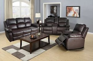 Motion Recliners 3 pcs... We take payments... $49 down payment ... Price $1199 for Sale in Las Vegas, NV