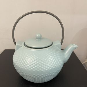 Cast Iron Teapot In Blue for Sale in Beverly Hills, CA