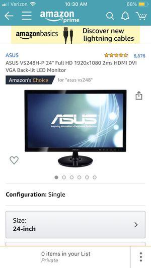 Asus Gaming Monitor for Sale in Morton, IL