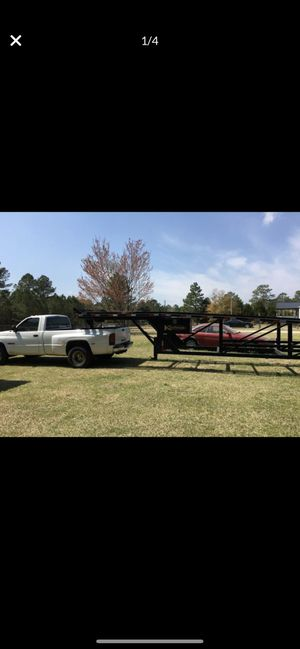 Kaufman small 4 vehicle trailer for Sale in Sanford, NC