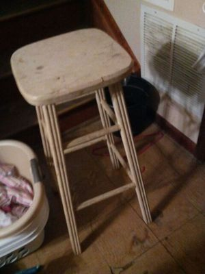 1 Wooden bar stool for Sale in Columbus, OH