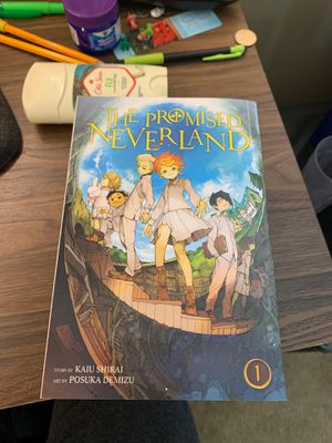 The Promised Neverland Vol.1-5 for Sale in San Bruno, CA