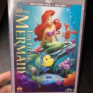 The Little Mermaid DVD for Sale in Sunnyvale, CA