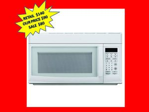 Magic Chef 1.6 cu. ft. Over the Range Microwave in White. Brand New! for Sale in Plantation, FL