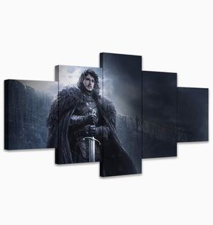 Wall Art A Song of Ice and Fire Poster Jon Snow Game of Thrones Canvas Paintings Mural Home Decoration for Sale in Bensenville, IL