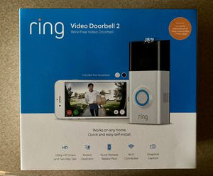 Ring video doorbell 2 for Sale in Kennewick, WA