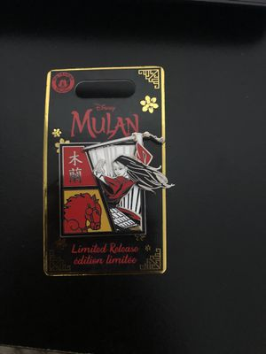 Rare Mulan Pin! Limited Edition! for Sale in Queens, NY
