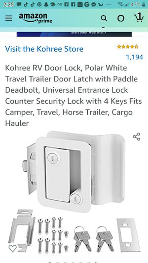 RV lock door for Sale in Las Vegas, NV