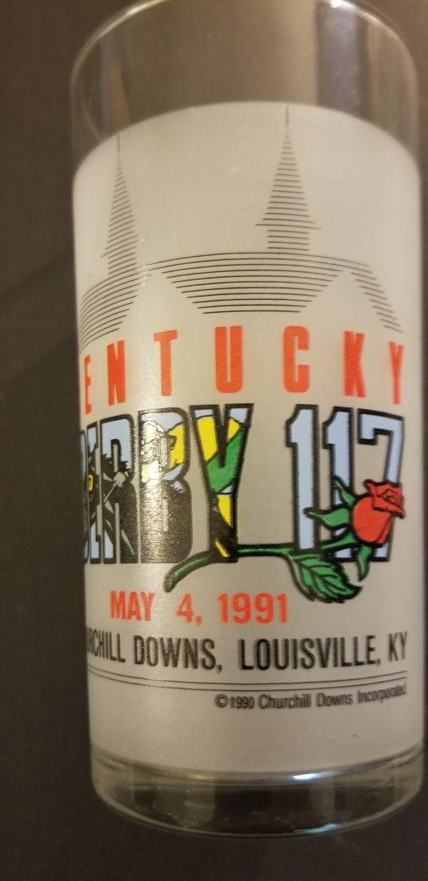 Vintage Kentucky Derby Mint Julip Glasses