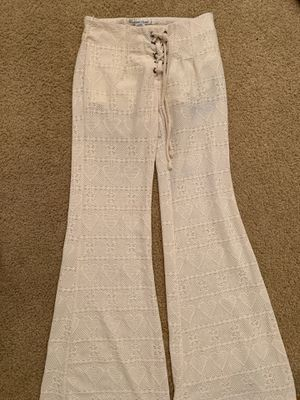 Long flare pants size S for Sale in Corona, CA
