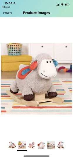 Loopsy Wooden Rocking Sheep for Sale in Mooresville, NC