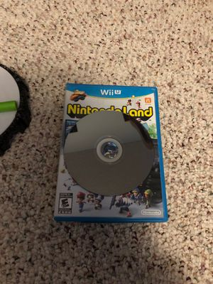 Wii u Nintendo land for Sale in Delano, MN