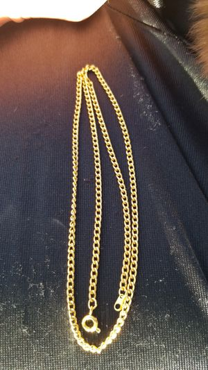 14kt Gold chain necklace, 18 inches for Sale in Salt Lake City, UT