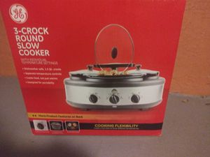 General Electric Crock Pot Brand New for Sale in Tampa, FL