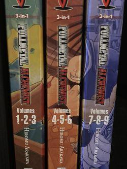 Fullmetal Alchemist Volumes 1-9 (3 In 1 Edition) for Sale in Battle Ground,  WA