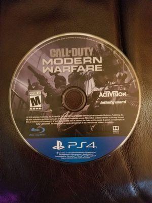 Call of Duty Modern Warfare PS4 for Sale in Gresham, OR