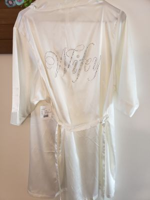 Satin wifey robe for Sale in Olney, MD