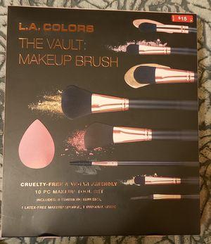 L.A. Colors Makeup Brush Set for Sale in Tucson, AZ