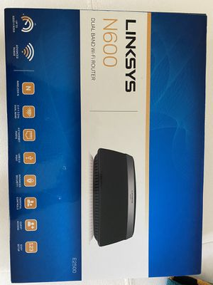 Linksys N600 Wifi Router for Sale in Oakland Park, FL