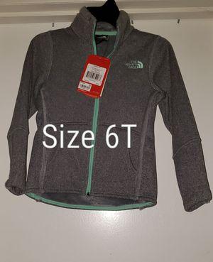 NorthFace Full Zip Mid Gray Heather size XS 6T for Sale in Renton, WA