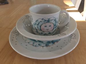 Cabbage Patch Kids Bowl, Plate and Mug for Sale in Charlottesville, VA