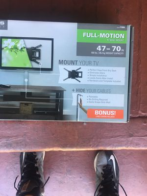 Tv mount full motion for Sale in Los Angeles, CA