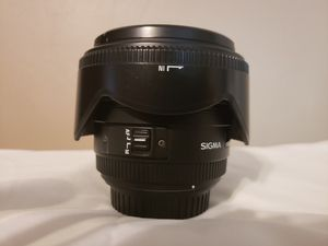 Sigma 50 mm non-Art lens. Some great portraits have been taken with this lens. $200 OBO for Sale in Chesapeake, VA