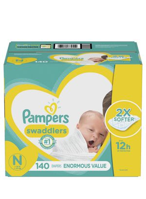 Big box pampers newborn $30 for Sale in San Diego, CA