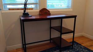 World Market Willard modern iron and wood desk for Sale in La Mesa, CA