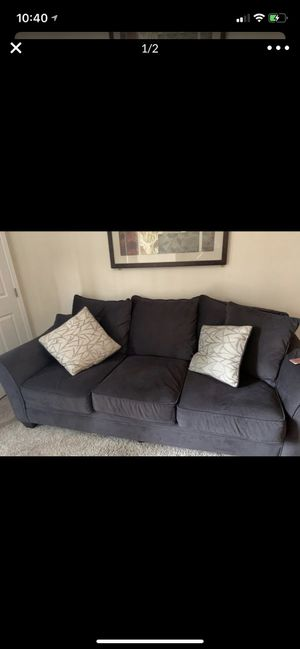 Gray couch for Sale in Wake Forest, NC