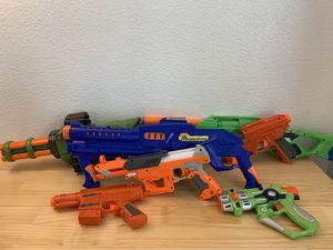 Nerf Gun Assortment for Sale in Roseville, CA