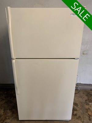 💥💥💥Whirlpool Top Freezer Refrigerator Fridge 33 in. Wide #1377💥💥💥 for Sale in Towson, MD