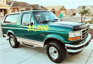🎁$12OO 🔥Non Smoker🔥 1996 Ford Bronco🎁 for Sale in Washington, DC