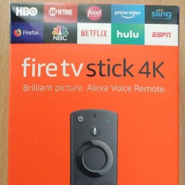 Brand New Amazon Fire TV 4k Sticks with Alexa Remote (Unlocked and Jailbroken)