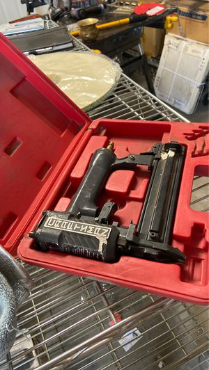 Finish nail gun 1 inch for Sale in Patterson, CA