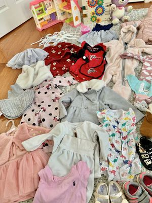 12-18 months baby girl clothing for Sale in Bristow, VA