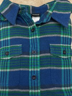 Women's Patagonia Org. Cotton Flannel Shirt Size 0 for Sale in Oregon City,  OR